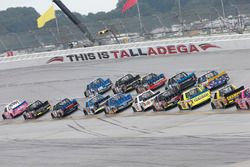 Johnny Sauter, GMS Racing Chevrolet Christopher Bell, Kyle Busch Motorsports Toyota Chase Briscoe, B