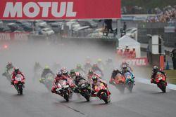 Marc Marquez, Repsol Honda Team leads at the start