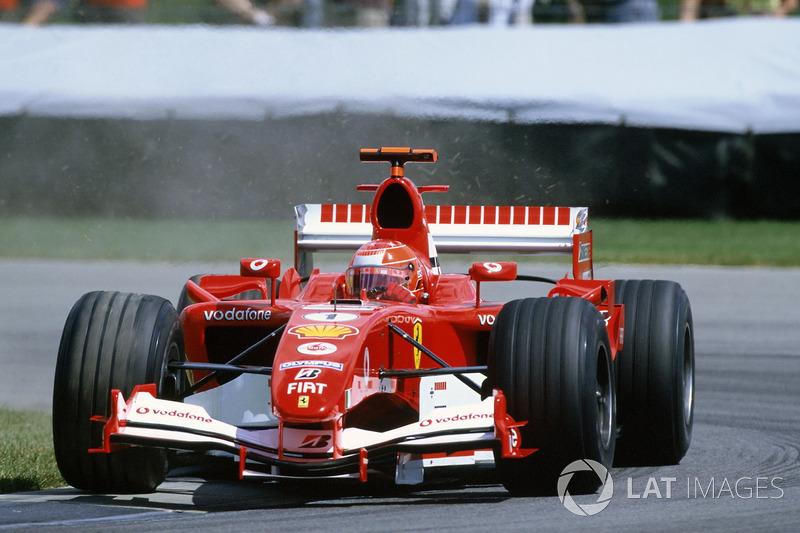 Race winner Michael Schumacher, Ferrari F2005