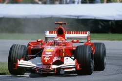 Race winner Michael Schumacher, Ferrari F2005