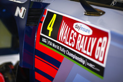 Detalle del auto Hayden Paddon, Sebastian Marshall, Hyundai i20 WRC, Hyundai Motorsport