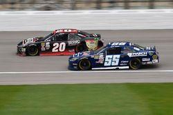 Erik Jones, Joe Gibbs Racing Toyota, Josh Berry, Toyota