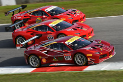 #575 Ferrari Jakarta Ferrari 488: Karim Nagadipurna, #557 Forza Motors Korea Ferrari 488: Andrew Moo