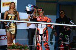 Podium: Marco Melandri, Ducati Team