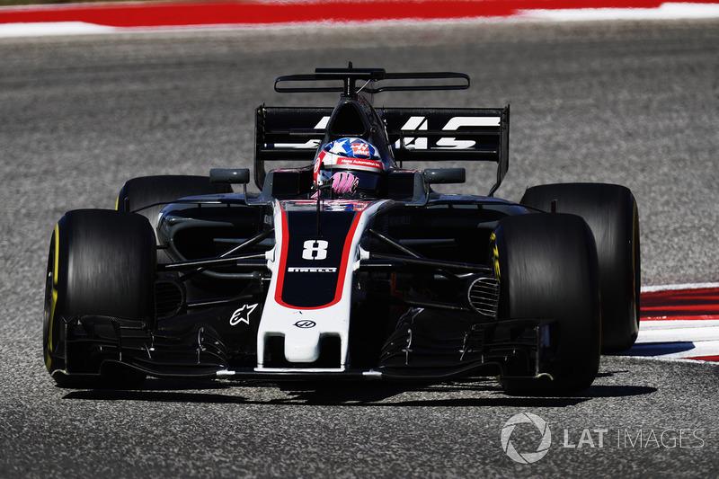 14e : Romain Grosjean (Haas F1 Team)