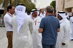 Príncipe heredero Shaikh Salman bin Hamad Al Khalifa y Hermann Tilke