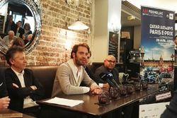 Jean-Eric Vergne, Techeetah, basın toplantısında