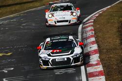 #177 Phoenix Racing Audi R8 GT4: Milan Dontje, Nicolay Møller Madsen