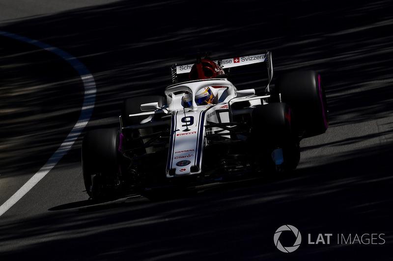 Marcus Ericsson, vijftiende plaats