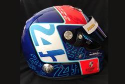 Helm von Jan Lammers für die 24h Le Mans 2018