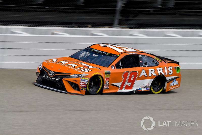 22. Daniel Suarez, Joe Gibbs Racing, Toyota Camry ARRIS