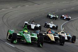 Spencer Pigot, Ed Carpenter Racing Chevrolet, James Hinchcliffe, Schmidt Peterson Motorsports Honda