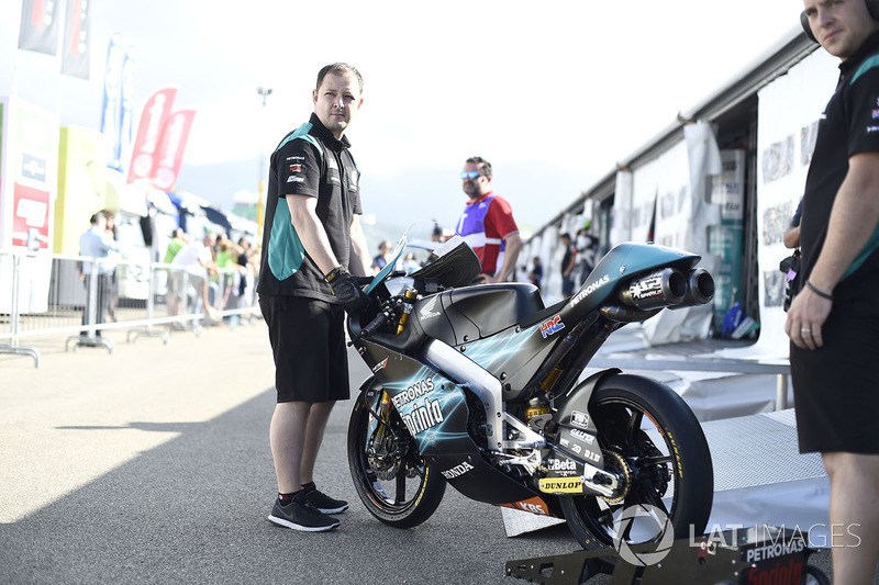 Bike of Adam Norrodin, Petronas Sprinta Racing