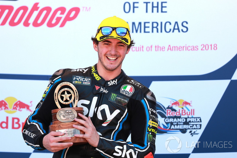 Podium: Ganador, Francesco Bagnaia, Sky Racing Team VR46