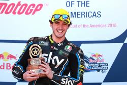 Podium: Ganador, Francesco Bagnaia, Sky Racing Team VR46