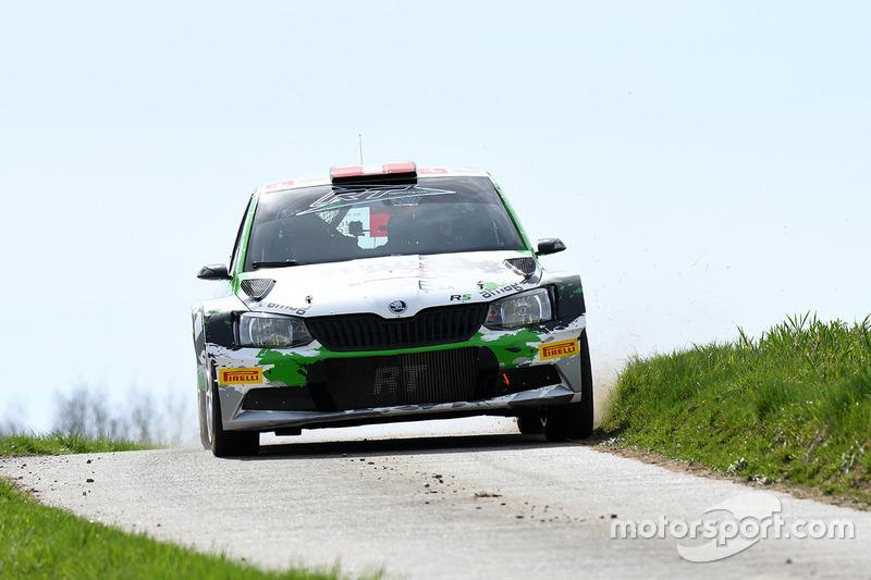 Ivan Ballinari, Giusva Pagani, Ford Fiesta R5, Lugano Racing Team