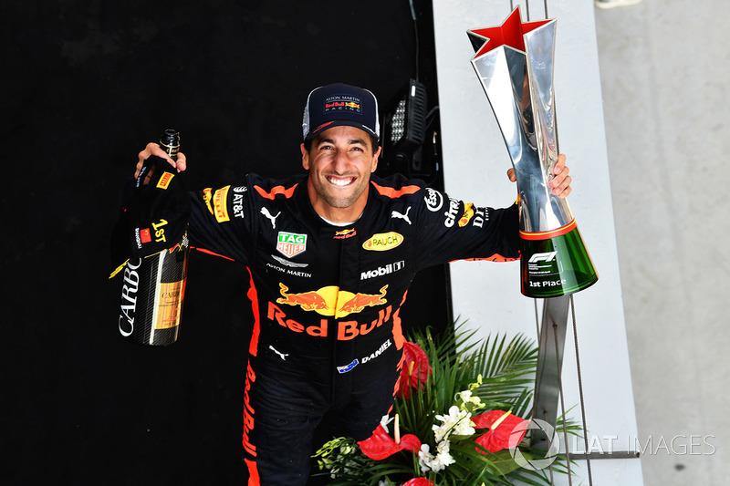 Переможець Даніель Ріккардо, Red Bull Racing