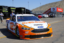 Ryan Blaney, Team Penske, Ford Fusion Devilbiss
