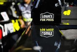 Jimmie Johnson, Hendrick Motorsports, Chevrolet Camaro Lowe's for Pros equipment