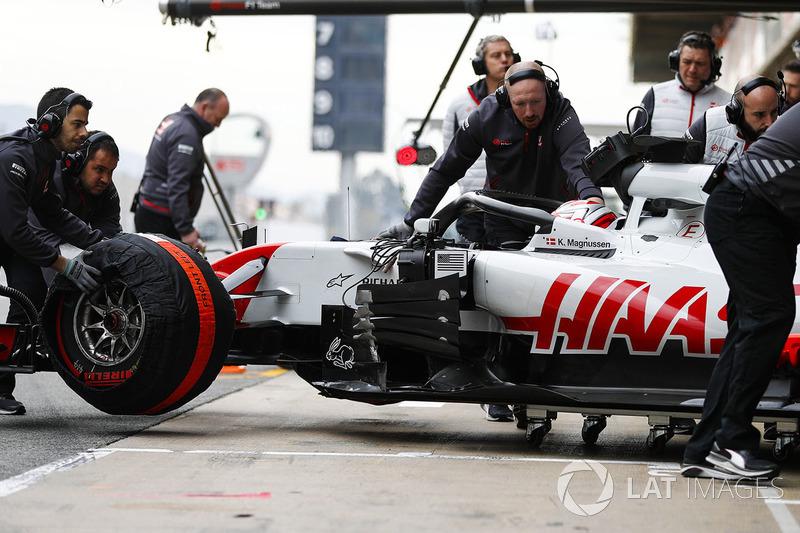 Kevin Magnussen, Haas F1 Team,