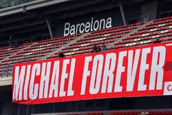 Bandera de Michael Schumacher