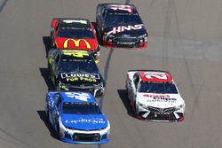 Kyle Larson, Chip Ganassi Racing, Chevrolet Camaro Credit One Bank, Erik Jones, Joe Gibbs Racing, To