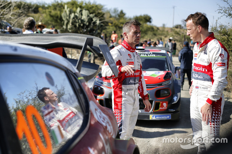 Kris Meeke, Citroën World Rally Team, Sébastien Loeb, Citroën World Rally Team