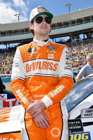 Ryan Blaney, Team Penske, Ford Fusion Devilbiss