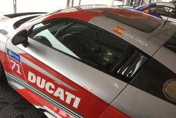Nombre de Carlos Checa en un Audi R8 LMS