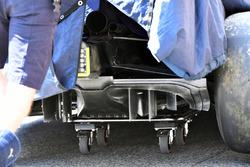 Red Bull Racing RB14 arka difüzör detay
