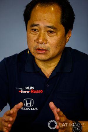 تويوهارو تنابي، المدير التقني لهوندا