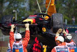 حادث سيارة دانيال ريكاردو، ريد بُل ريسينغ
