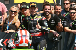 Pole position de Jonathan Rea, Kawasaki Racing
