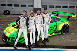 Race winners #912 Manthey Racing Porsche 911 GT3 R: Richard Lietz, Patrick Pilet, Frédéric Makowiecki, Nick Tandy