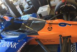Scott Dixon, Chip Ganassi Racing Honda test de nieuwe aeroscreen