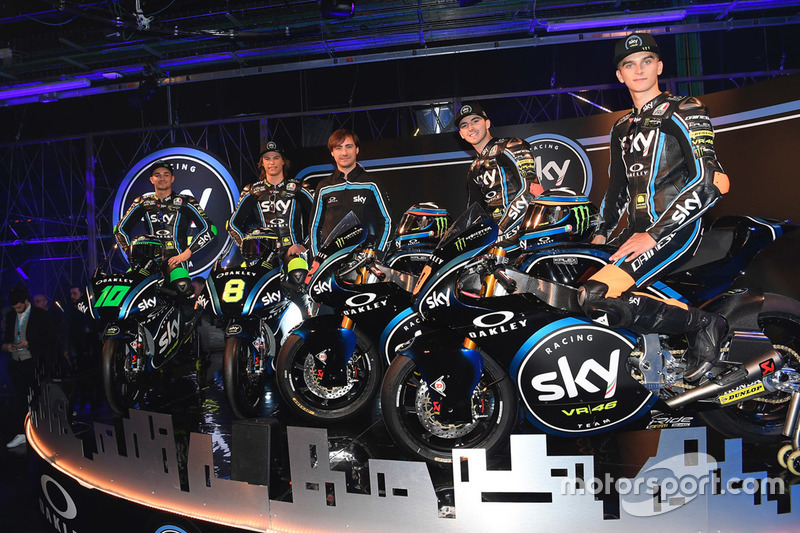 Launching Sky Racing Team VR46 2018