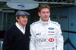 Jos Verstappen, Stewart Ford and Jackie Stewart