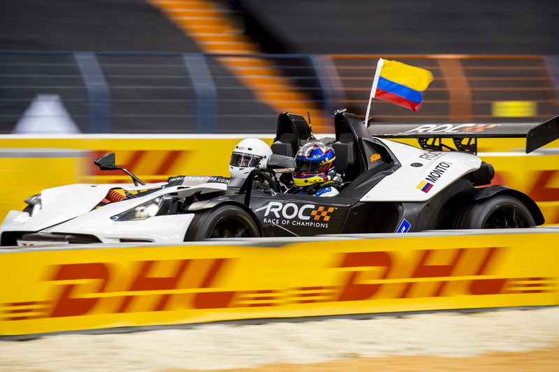 Juan Pablo Montoya of Team Latin America driving the KTM X-Bow Comp R