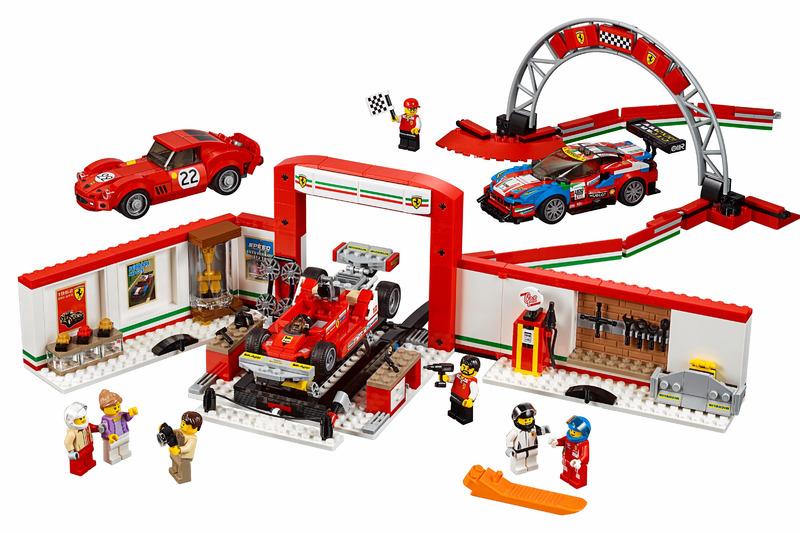 Lego Speed Champions Ferrari Ultimate Garage