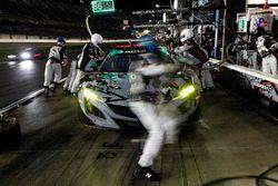 #86 Michael Shank Racing Acura NSX, GTD: Katherine Legge, Alvaro Parente, Trent Hindman, A.J. Allmendinger, au stand