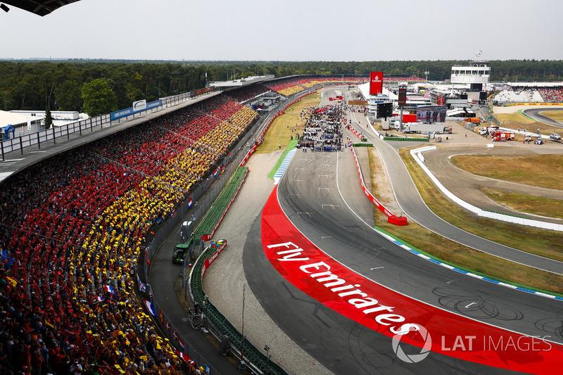 Um dos mais tradicionais do calendário da F1, o GP da Alemanha deixou de ser realizado em 1950, 1955, 1960, 2007, 2015 e 2017.