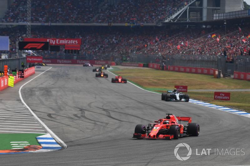 Sebastian Vettel, Ferrari SF71H lidera