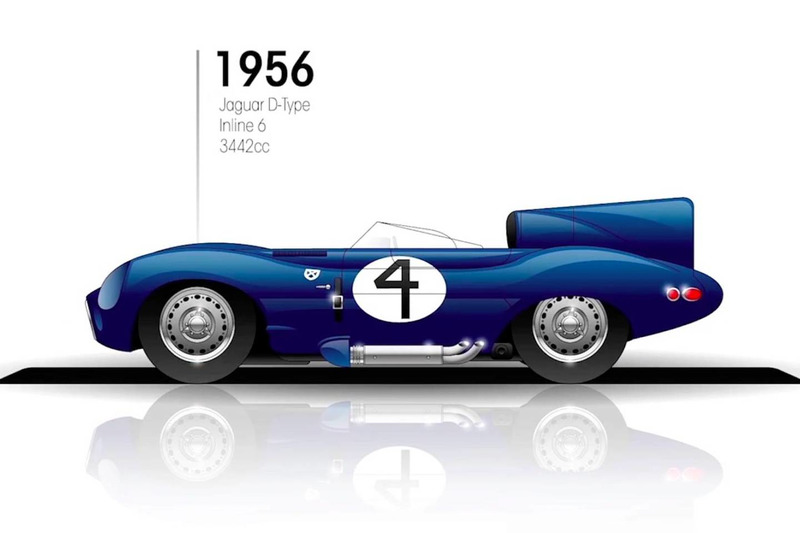 1956: Jaguar D-Type