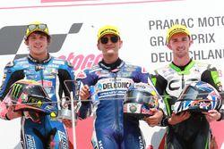 Podyum: Yarış galibi Jorge Martin, Del Conca Gresini Racing Moto3, 2. Marco Bezzecchi, Prustel GP, 3. John McPhee, CIP Green Power