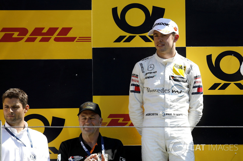 Podium: second place Paul Di Resta, Mercedes-AMG Team HWA and Pierre Kaffer