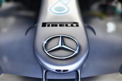 Le nez de la Mercedes AMG F1 W09