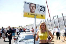 Grid girl of Daniel Juncadella, Mercedes-AMG Team HWA
