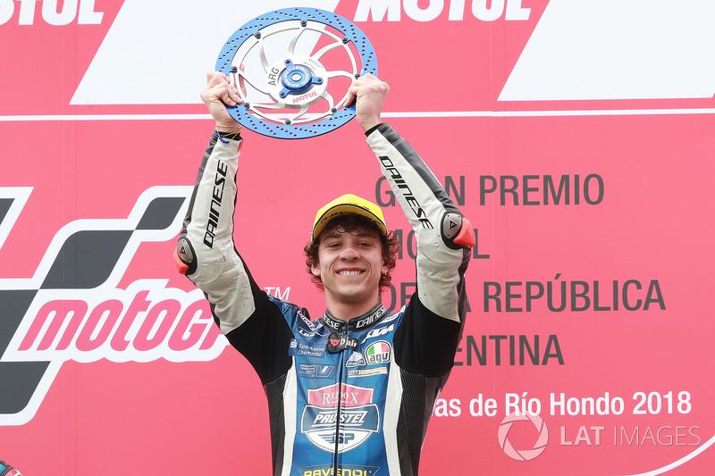 Marco Bezzecchi - 3 victorias con KTM