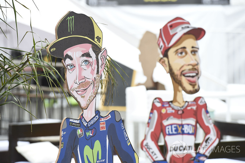 Valentino Rossi, Yamaha Factory Racing artwork