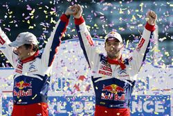 Winners Sébastien Loeb, Daniel Elena, Citroën World Rally Team